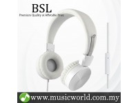BSL Gorsun GS782 On Ear Headphone with Mic Personal Monitor Bass Foldable Headphones Consumer Earphone