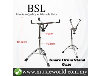 BSL G110 Adjustable Snare Stand Musical instrument Chrome Electronic Double Braced Drum Stand