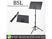 BSL P-06 Conductor Stand Adjustable Heavy Duty Music Instrument Menu Score Sheet Holder Stand
