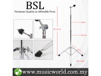 BSL G300 Adjustable Cymbals Stand Straight Foldable Double Braced Heavy Duty Lightweight