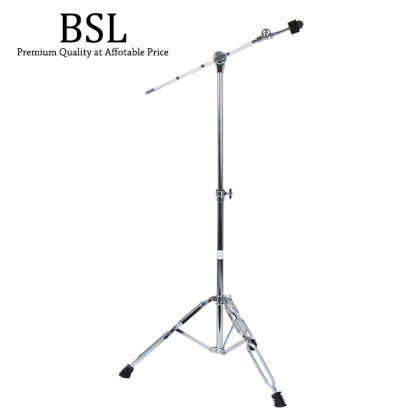 BSL G400 Boom Cymbal Stand Adjustable Foldable Double Braced Heavy Duty Cymbals Lightweight
