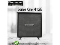 Blackstar Series One 412B Straight Extension Cabinet Guitar Amplifier Amp (S1-412B)