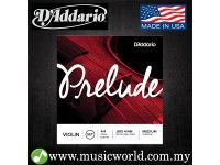 D'Addario J810 Prelude Violin String Set 4/4 Scale Medium Tension Daddario D addario Violin Strings