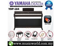 Yamaha Arius YDP-164 Rosewood Brown 88 Key Digital Piano Complete Bundle (YDP164 / YDP 164)