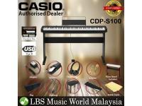 Casio CDP-S100 88 Key Digital Piano Keyboard Full Package Electric Keys (CDPS100)