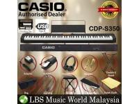 Casio CDP-S350 88 Keys Digital Piano Keyboard Portable Package Electric Keys (CDPS350)