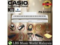 Casio PX-S1000 88 Keys Digital Piano White Keyboard Portable Package Electric Keys (PXS1000 / PX1000)