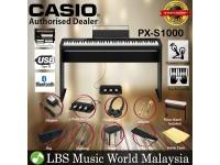 Casio PX-S1000 88 Keys Digital Piano Black Keyboard Full Package 3 Pedal Electric Keys (PXS1000 / PX1000)