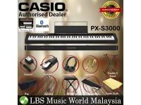Casio PX-S3000 88 Keys Digital Piano Keyboard Portable Package Electric Keys (PXS3000 / PX3000)