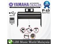 Yamaha P-45 88 Key Digital Piano Standard Package (P45 / P 45)
