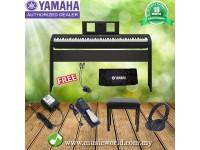 YAMAHA P-45 88 KEYS DIGITAL PIANO PREMIUM BUNDLE SET WITH BENCH PEDAL DUST COVER HEADPHONE LIGHTING (P45 / P 45)