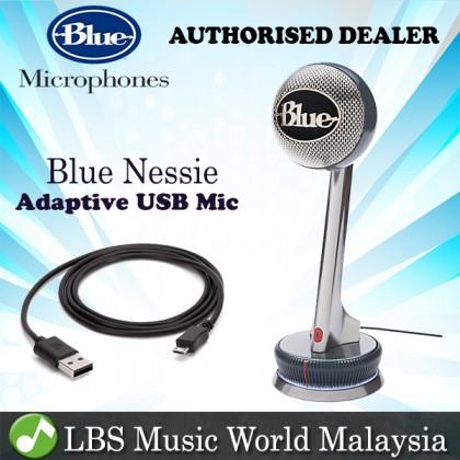 Blue Microphone Nessie Adaptive USB Cardioid Microphones Mic