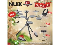 NUX DM-1 Portable Digital Electronic Drum Kit DM1 - CHRISTMAS & NEW YEAR PROMOTION