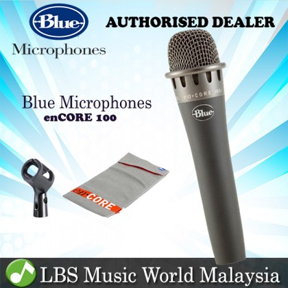 Blue Microphones enCORE 100 Dynamic Handheld Vocal Instrument Microphone Mic