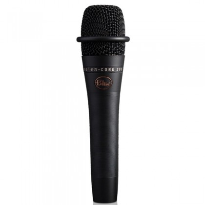 Blue Microphones enCORE 200 Black Dynamic Active Handheld Vocal Microphone Mic