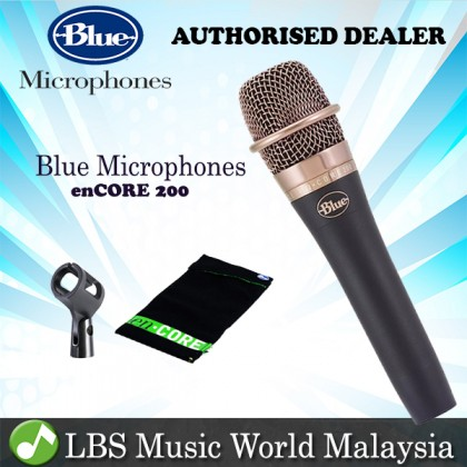 Blue Microphones enCORE 200 Dynamic Active Handheld Vocal Microphone Mic