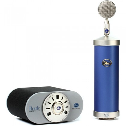Blue Microphones Blue Bottle Large-diaphragm Tube Condenser Microphone Mic with Interchangeable Capsule