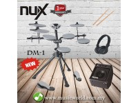 DIGITAL DRUM NUX DM1 ELECTRICAL DRUM BASIC BUNDLE