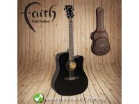 FAITH Guitar FASCEBK Apollo Saturn Black With Bag
