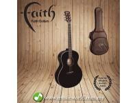 FAITH ACOUSTIC FOLK GUITAR FANEBK - Apollo Neptune Electro Black