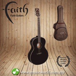 FAITH ACOUSTIC FOLK GUITAR FANEBK - Apollo Neptune Electro Black