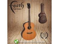 FAITH ACOUSTIC FOLK GUITAR FANECA - Apollo Neptune Electro Cedar/Amara