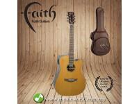 FAITH ACOUSTIC FOLK GUITAR FASCECA - Apollo Saturn Cut/Electro Cedar/Amara