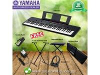 YAMAHA PSR-E263 61 Keys Portable Keyboard Premium Bundle With Headphone  (PSRE263 / PSR E263)