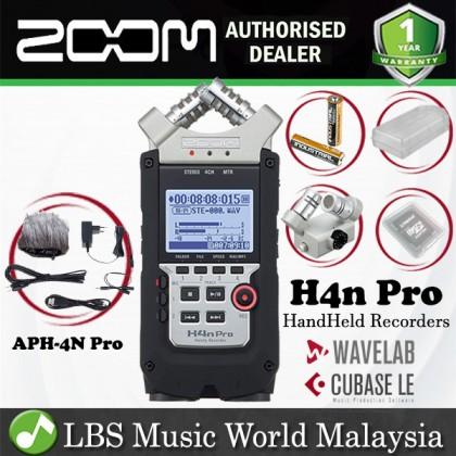 Zoom H4N Pro Handy Recorder Field Recorder Mic APH-4N Pack (H4 H 4 4N)