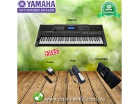 Yamaha PSR-E453 Portable Keyboards With Bag and Pedal (PSRE453 / PSR E453)
