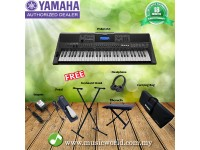 Yamaha PSR-E453 Portable Keyboards Premium Bundle (PSRE453 / PSR E453)