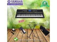Yamaha PSR-E453 Portable Keyboards Home Bundle (PSRE453 / PSR E453)