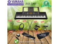 Yamaha PSR-E363 61keys Keyboard Complete Set (PSRE363 / PSR E363)