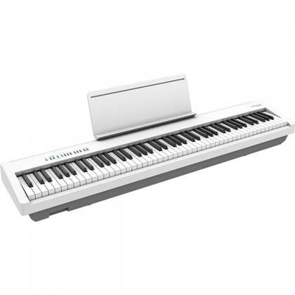 Roland FP-30X 88 Keys Digital Piano Portable Package Weighted Electric Keyboard - White (FP30X FP30 X FP 30X)