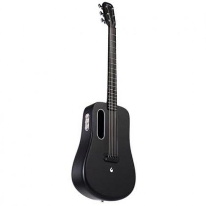 Lava Me 2 36 Inch Black Electric Acoustic Guitar with Freeboost Effect & Speaker (Free Boost)