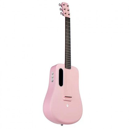 Lava Me 2 36 Inch Pink Electric Acoustic Guitar with Freeboost Effect & Speaker (Free Boost)