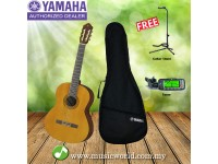 Yamaha C40 II Classical Guitar With BagTuner Guitar Stand (C40II)