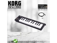 KORG microKEY 25 USB Powered Keyboard MIDI Keyboard (Micro Key 25)