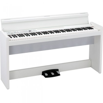 KORG LP-380 88 Key Digital Piano White with Bench (LP380)