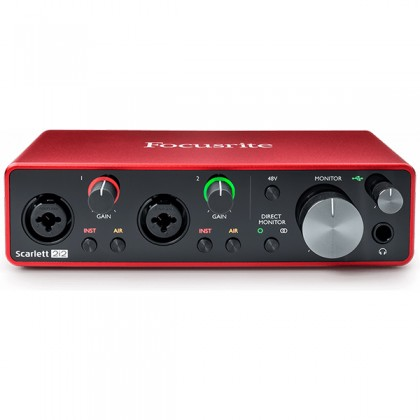 Focusrite Scarlett 2i2 3rd Gen USB Recording Audio Interface (3rd Generation)