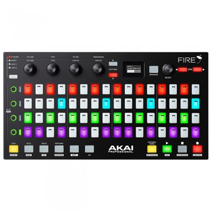 Akai Professional Fire Grid Midi Controller for FL Studio USB Powered Controller pad