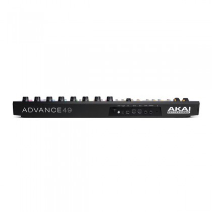 Akai Professional Advance 49 Keyboard Controller USB Midi Semi Weighted with 8 Pad & Knob