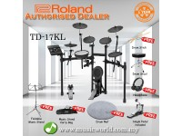 Roland TD-17KL Digital Drum V-Drums V Drum Bundle (TD 17KL / TD17KL)