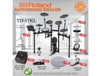 Roland TD-17KL Digital Drum V Drum Bundle With Amp (TD 17KL / TD17KL)