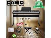 CASIO CDP135 88 KEY DIGITAL KEYBOARD BUNDLE (CDP-135 / CDP 135)