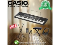 CASIO CTK2500 61 Key Portable Keyboard with Stand Headphone Bench (CTK 2500 / CTK-2500)