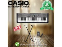 CASIO CTK1300 61 KEYS PORTABLE KEYBOARD WITH STAND (CTK 1300 / CTK-1300)