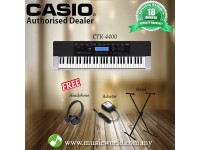 Casio CTK-4400 Portable Keyboard With Headphone Stand (CTK4400 / CTK 4400)