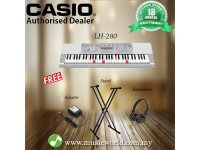CASIO LK-280 Lighting Portable Keyboard With Stand Headphone (LK280 / LK 280)