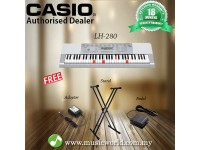 CASIO LK-280 Lighting Portable Keyboard With Stand Pedal (LK280 / LK 280)